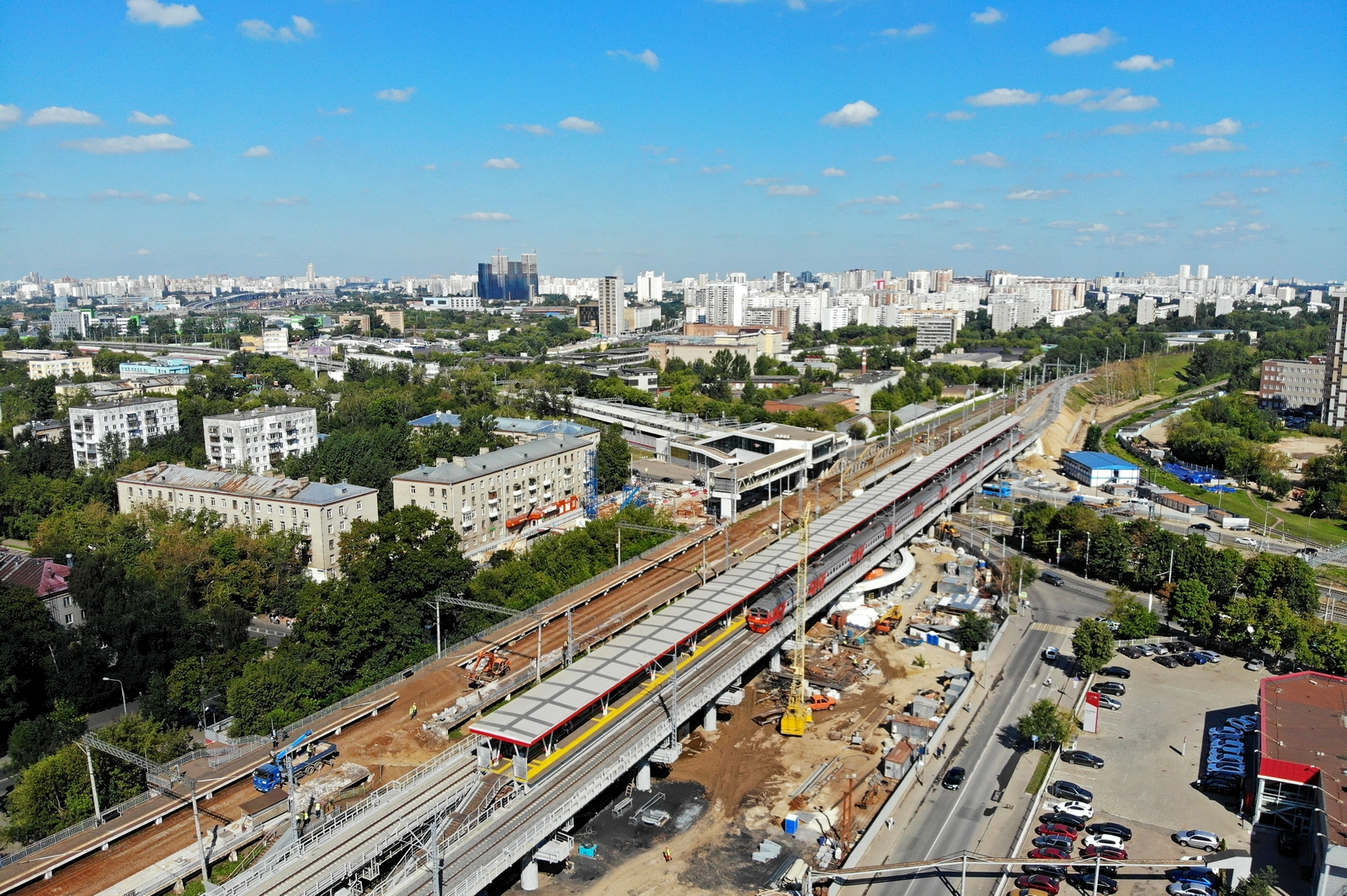 The steep infrastructure project of Moscow will be, near, time, Now, the very thing, the author, is, in the eyes, literally, a magazine, a subway, another, I will say, more, transport, work, platform, right, right, going