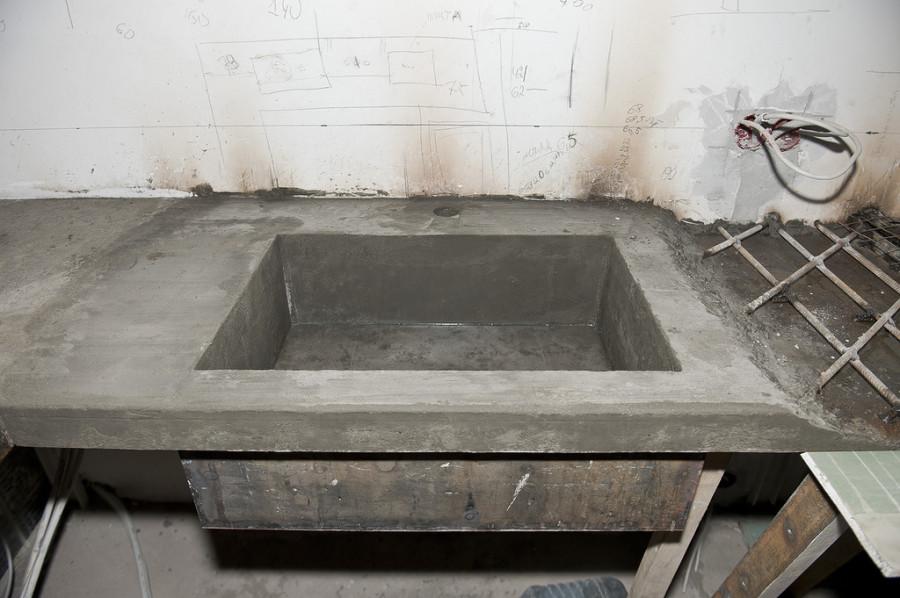 Раковина своими руками из бетона