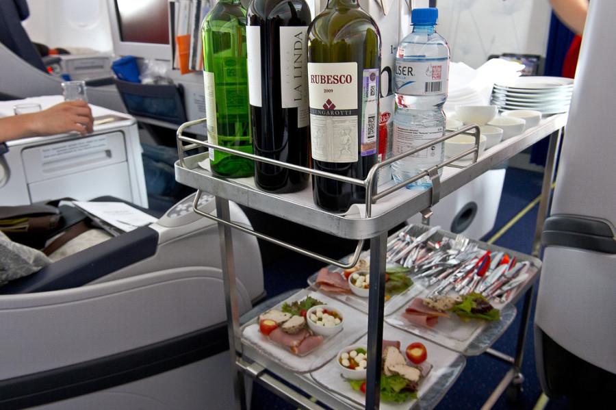напитки бизнес класс аэрофлот