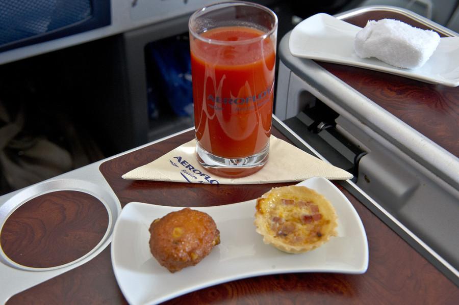 закуска бизнес класс аэрофлот