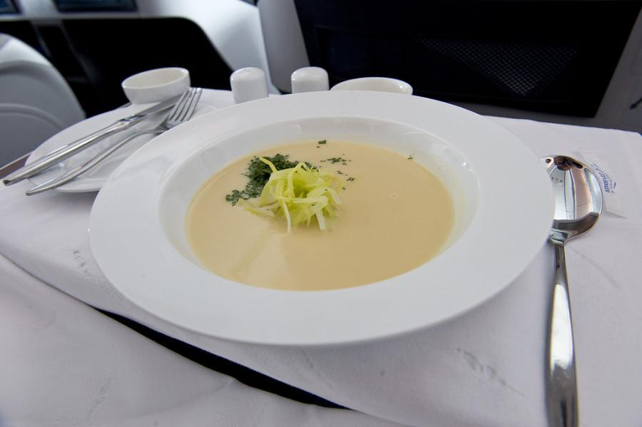 бизнес класс питание на борту аэрофлот