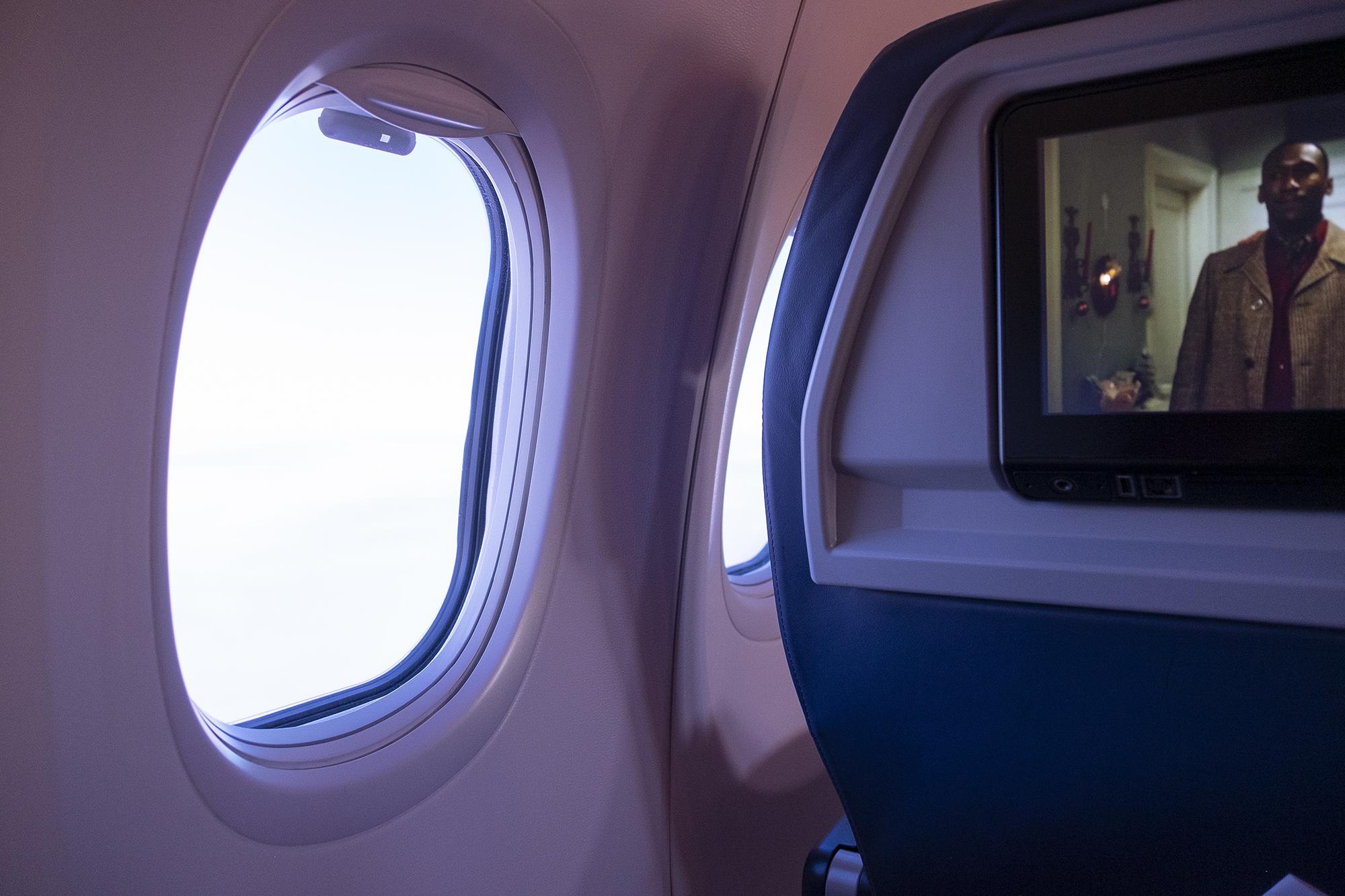Заметил такое в самолете