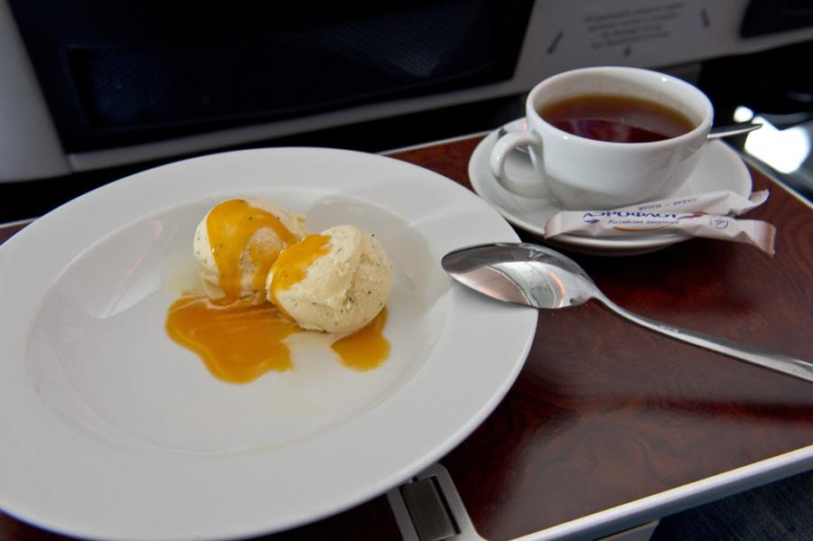 мороженое бизнес класс аэрофлот