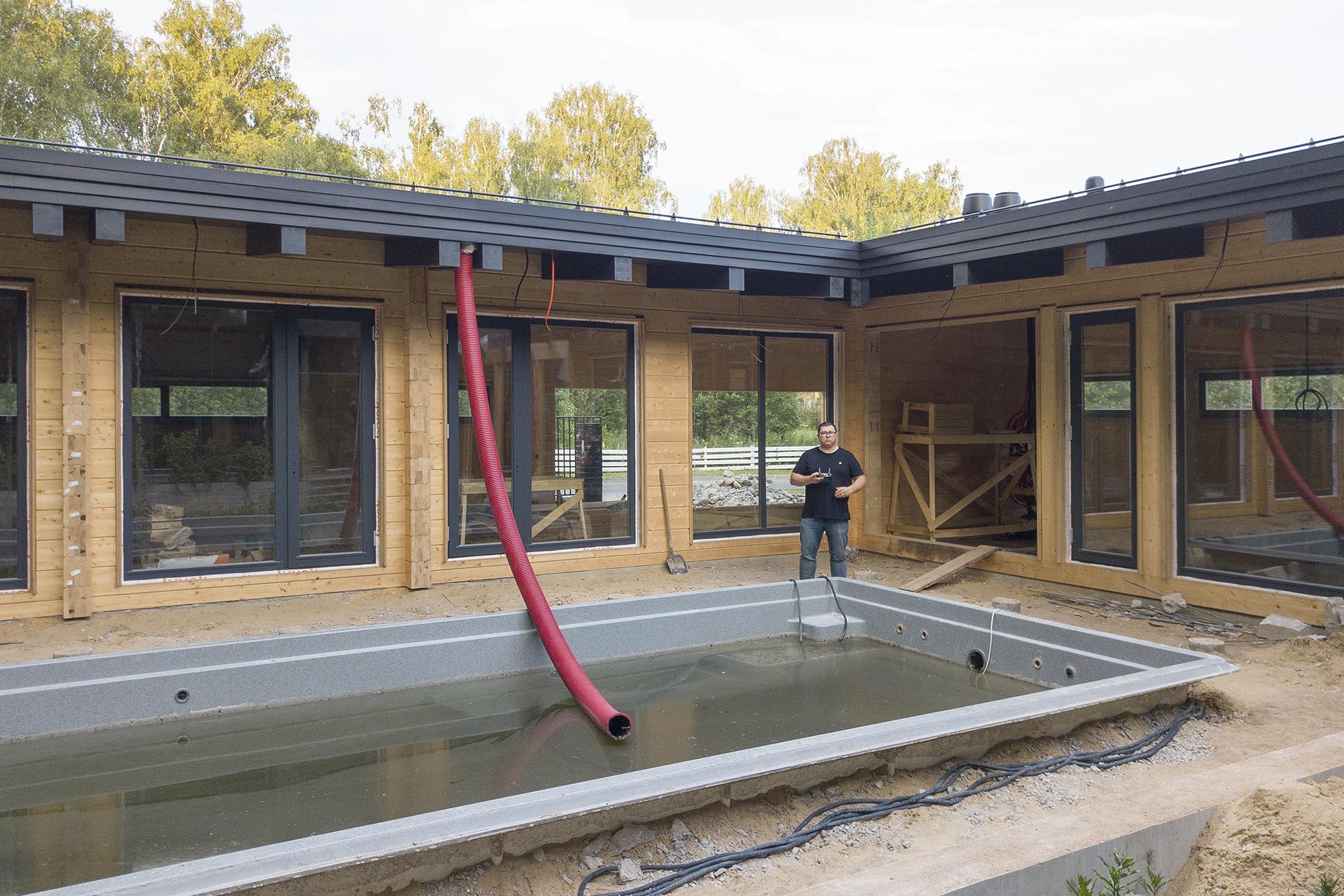 Бассейн и другие ошибки при строительстве дачи