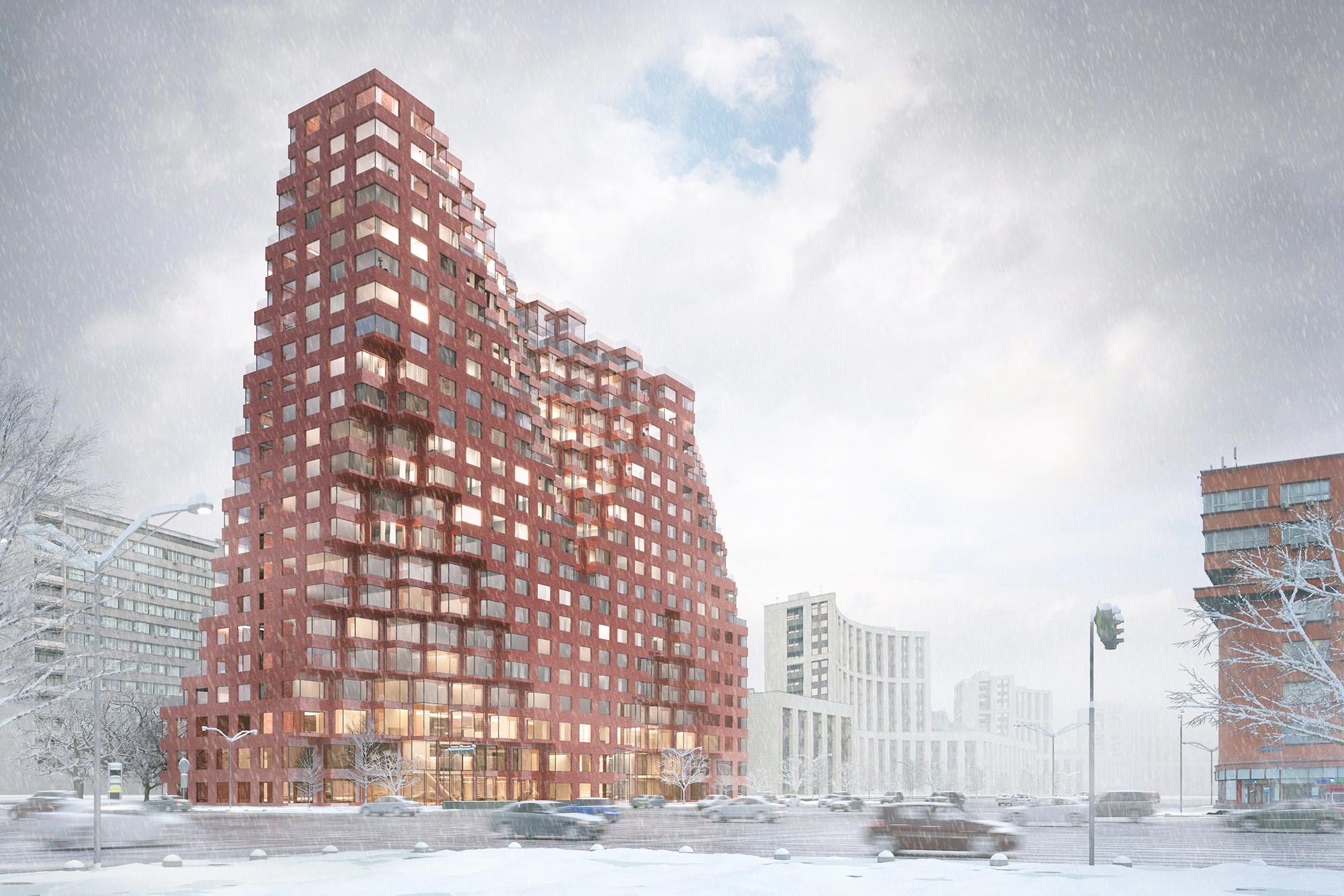 Архитектурный шедевр RED7 появится в Москве