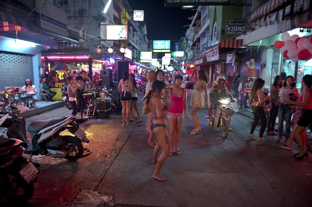 видео проститутки паттайи