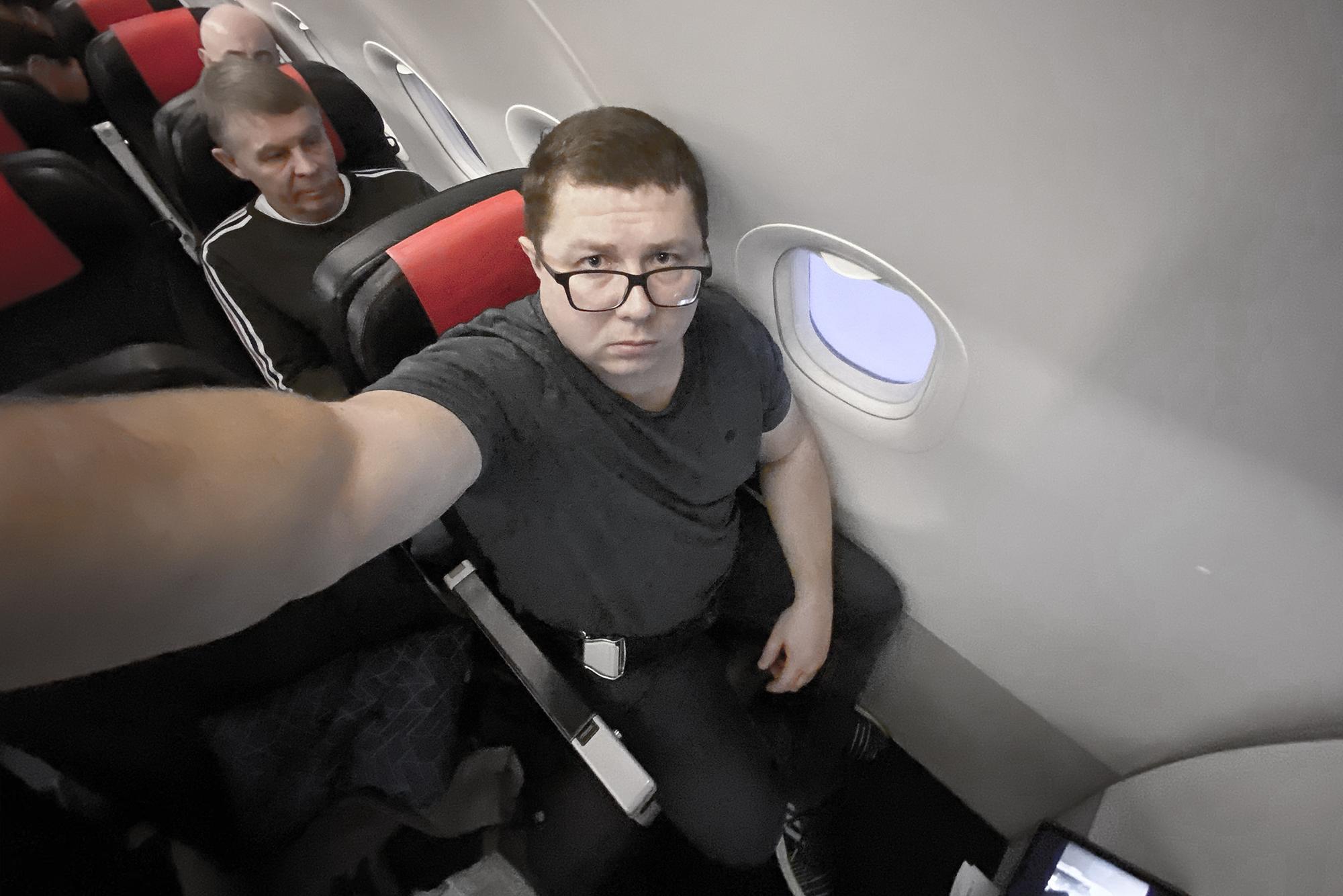 Позорный бизнес-класс ЭйрФранс (Airfrance business class)