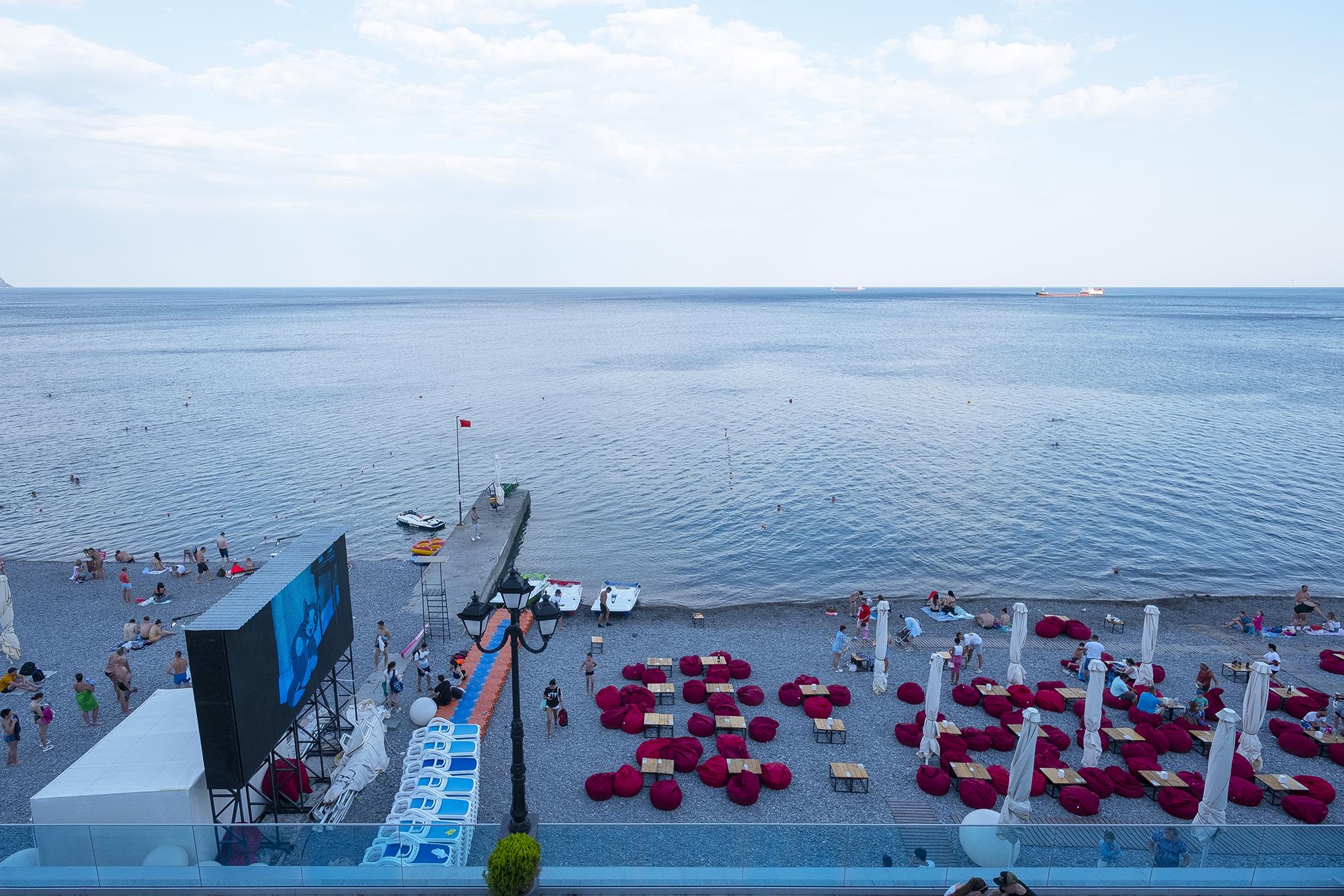 Хитрость крымских пляжей