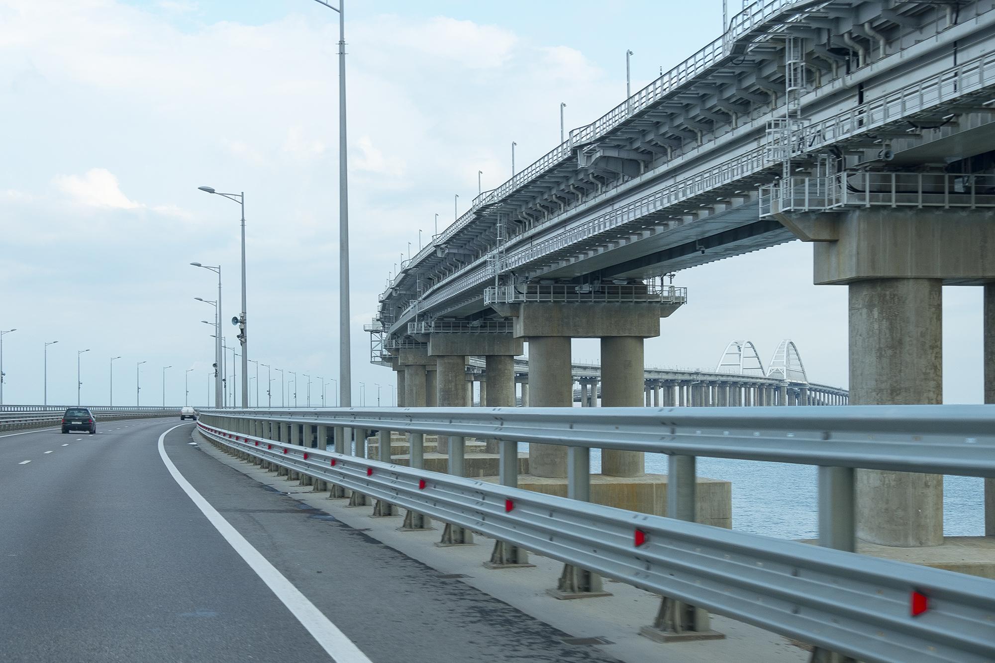 Во что превратилась трасса Таврида в Крыму