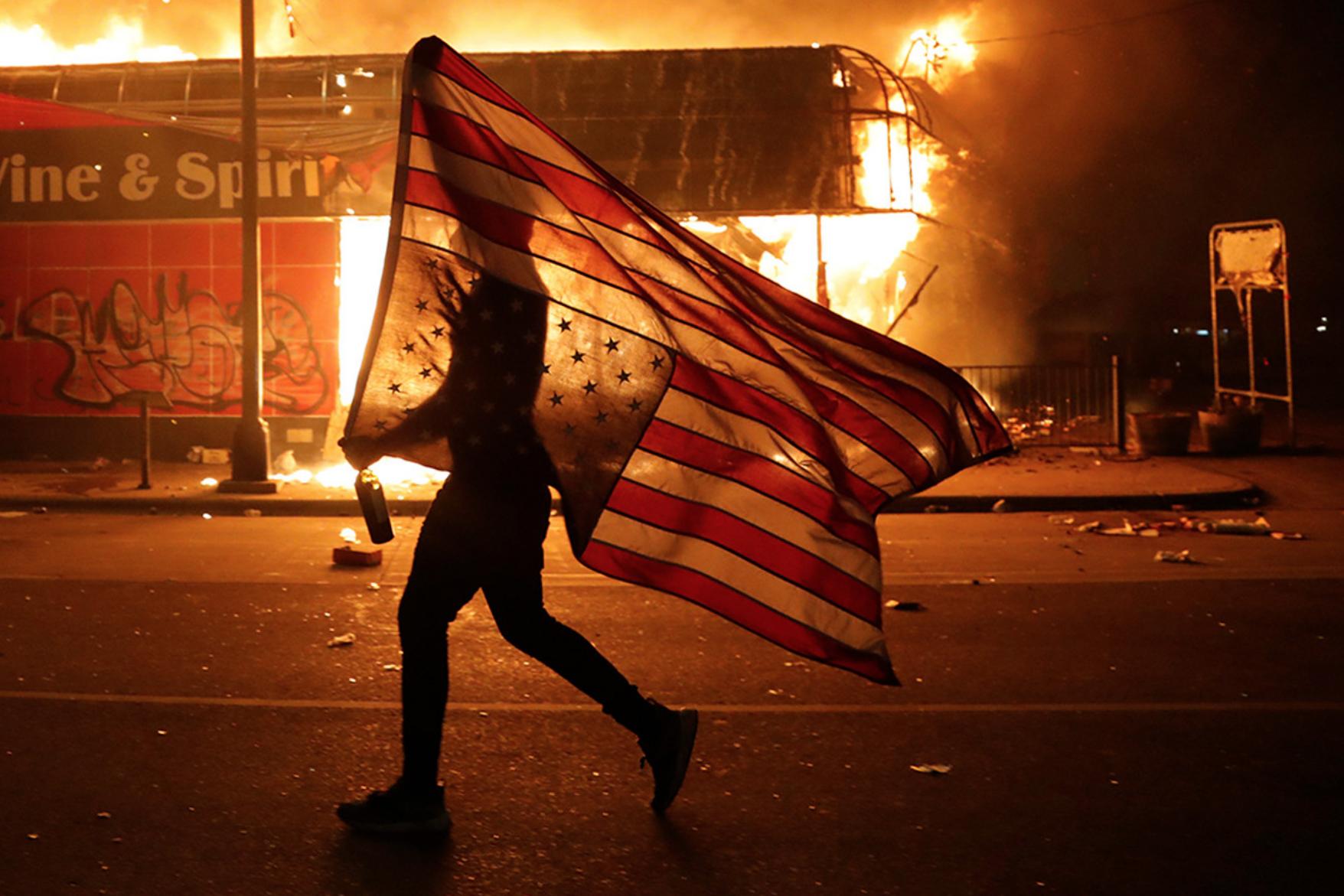 В США начинается цветная революция