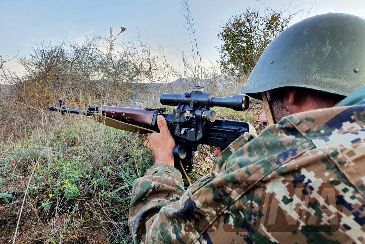 В Карабахе снова стреляют