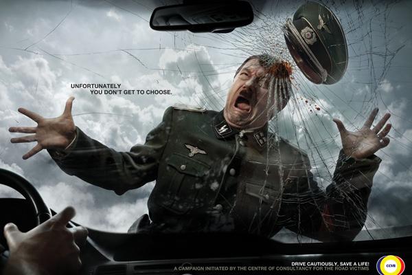 Гитлер социальная реклама