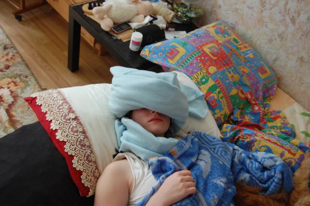 Если ребенок спит и храпит