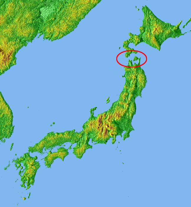 Location_TsugaruPeninsulaJp
