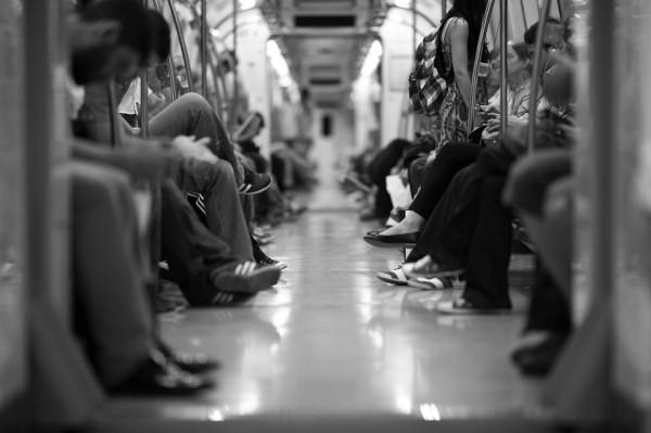 Остановка мыслей в метро