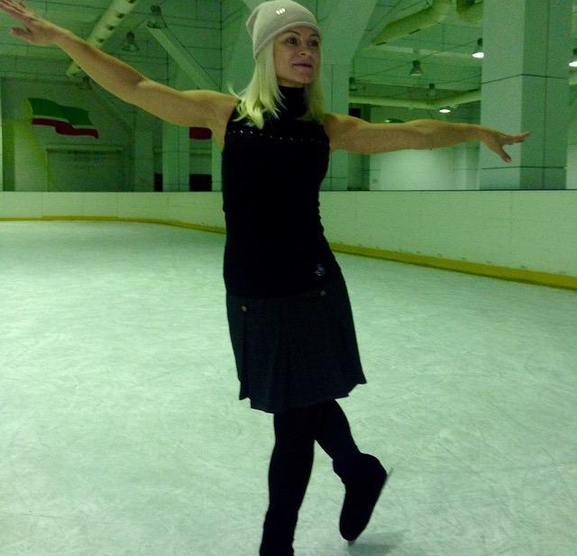 Анна на льду