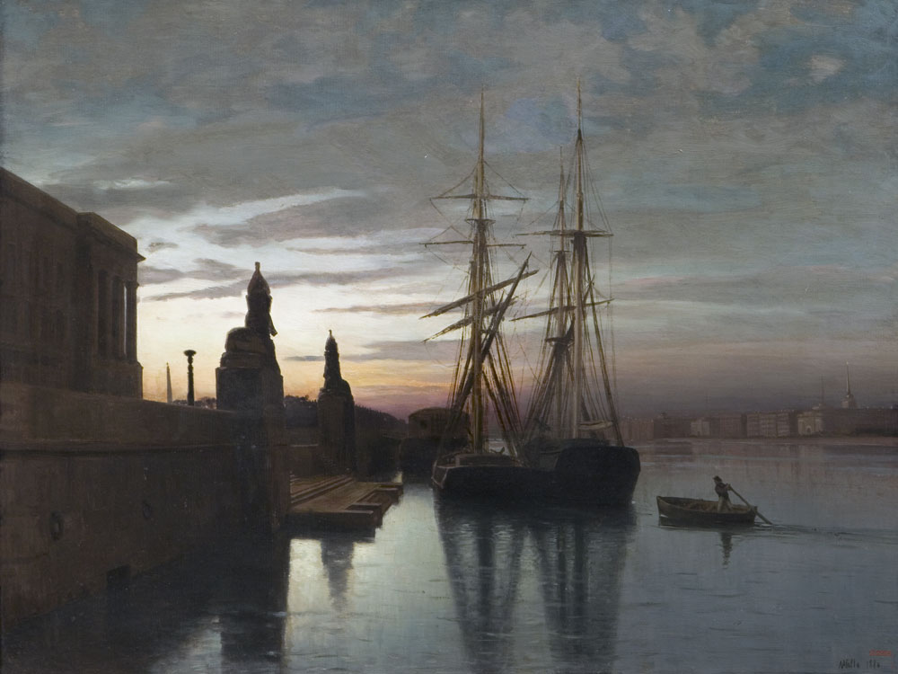 Lagorio_-_View_to_Academy_of_Arts_from_the_Neva_River,_1880