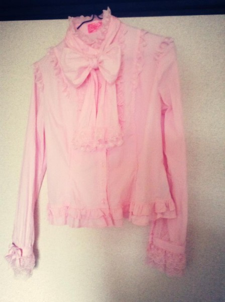 Angelic Pretty - pink blouse