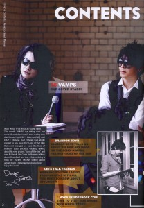 INSIDE SHOCK ISSUE 009 - 02 - VAMPS