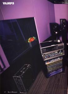 SOUND DESIGNER 2014.09 - 11 - VAMPS