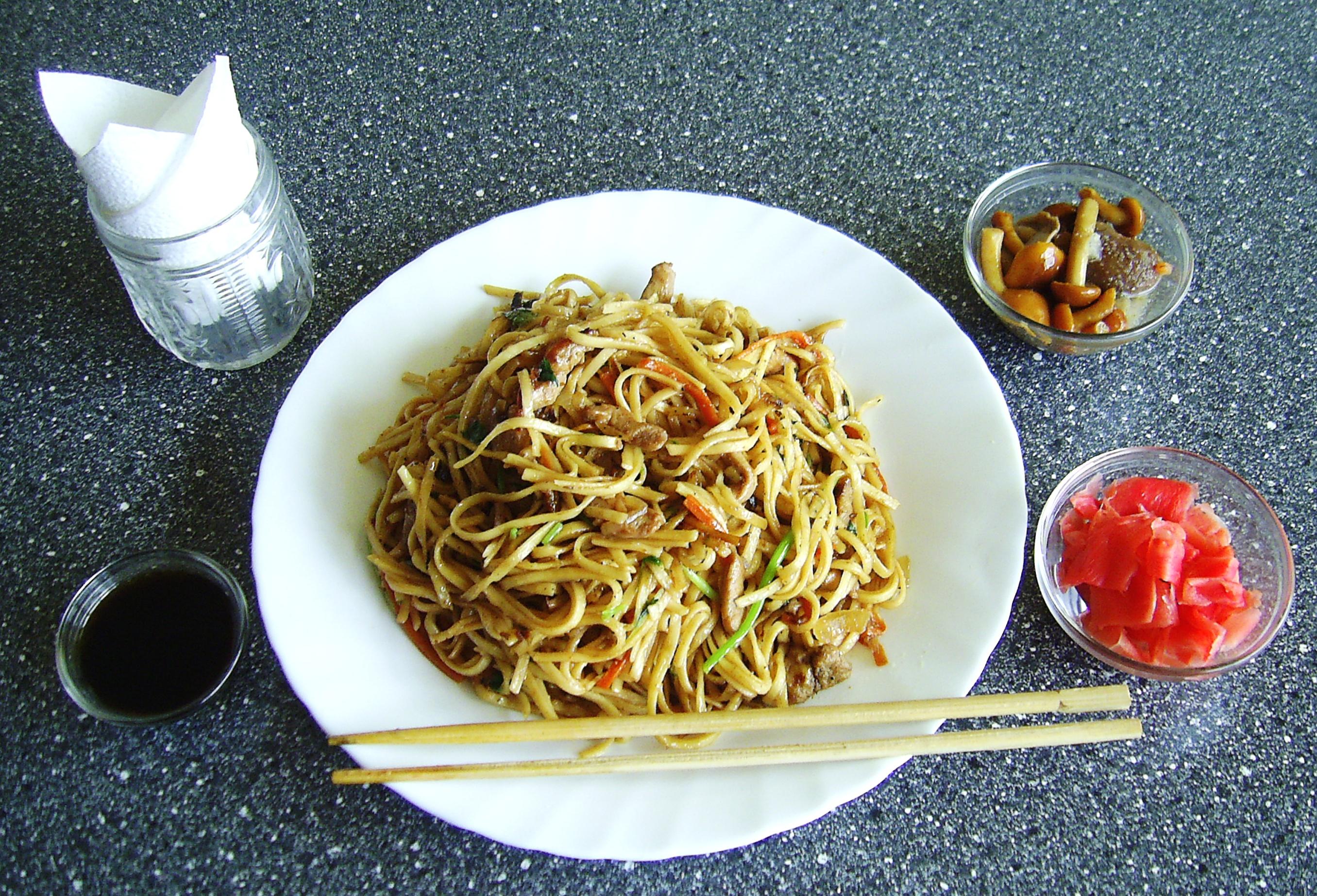 рецепт приготовления лапши по китайски