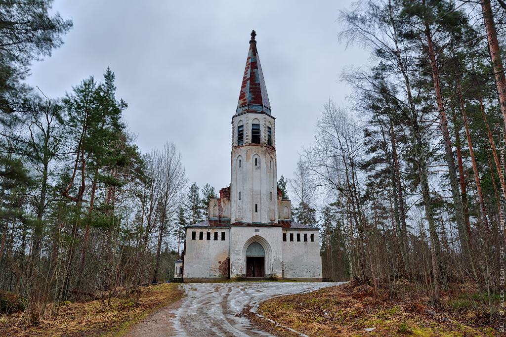 2013-Russia-Karelia-Lumivaara Kirha-001