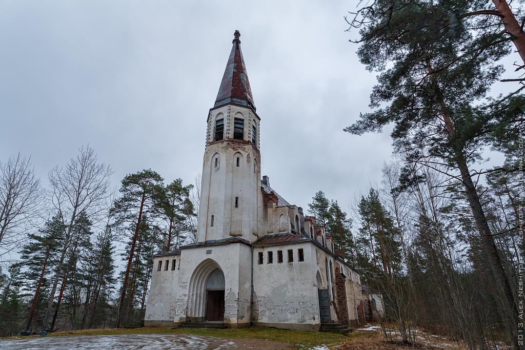 2013-Russia-Karelia-Lumivaara Kirha-002