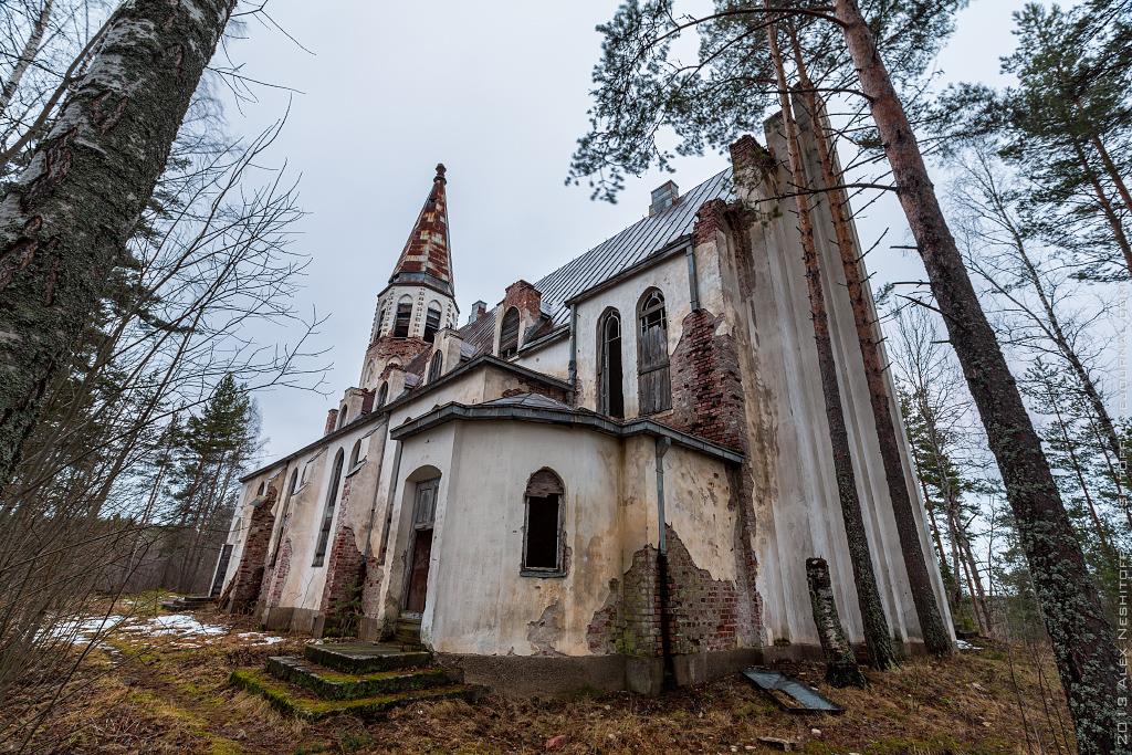 2013-Russia-Karelia-Lumivaara Kirha-007