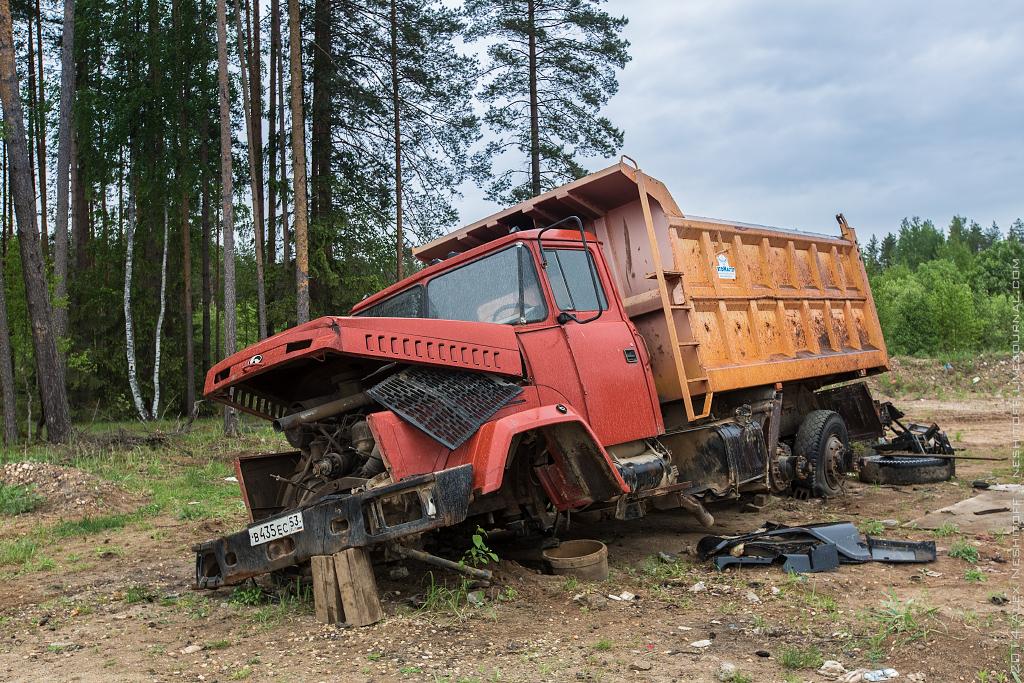 2014-Russia-Novgorodskaya obl-Old Quarry-020