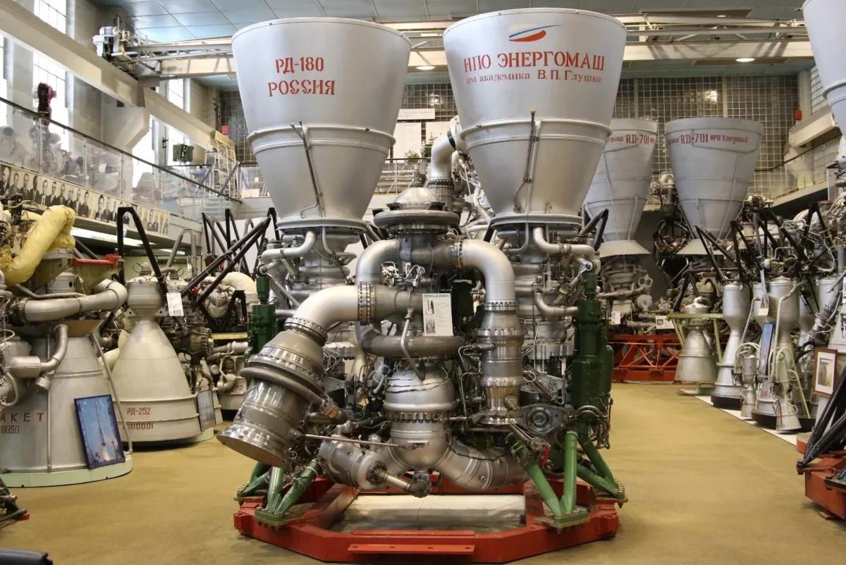 Российский ракетный двигатель РД-180. Источник: engine.space