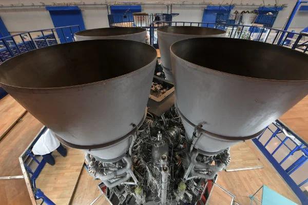 Двигатель РД-180. Фото из твиттера главы Роскосмоса Д.О.Рогозина