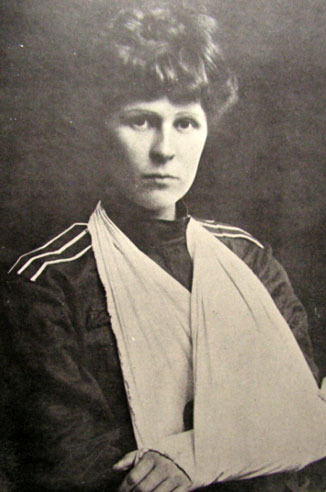 Прапорщик Алексеевского полка З.Н.Реформатская, участница Кубанского похода