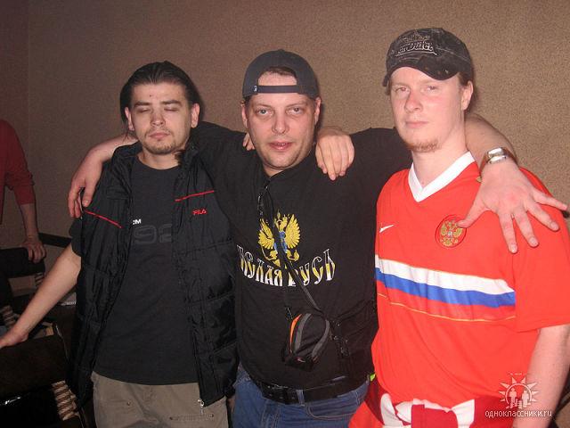 Фашист Лука с подельниками в Молдове
