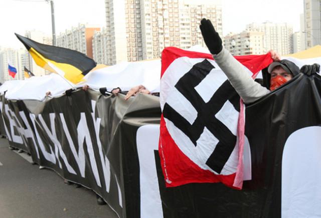 Фашисты свастика имперский флаг
