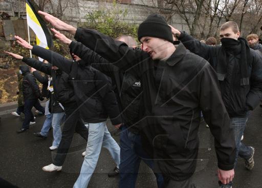 Фашист Лука придвадитель русских фашистов в Молдове