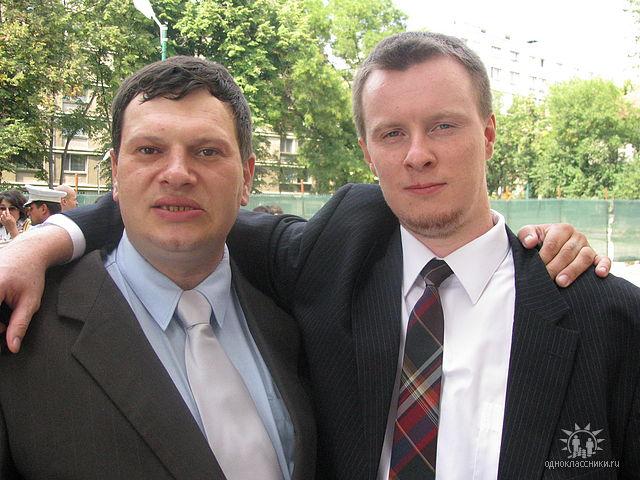 Кишиневский фашист Станислав Лука с румынскими заказчиками