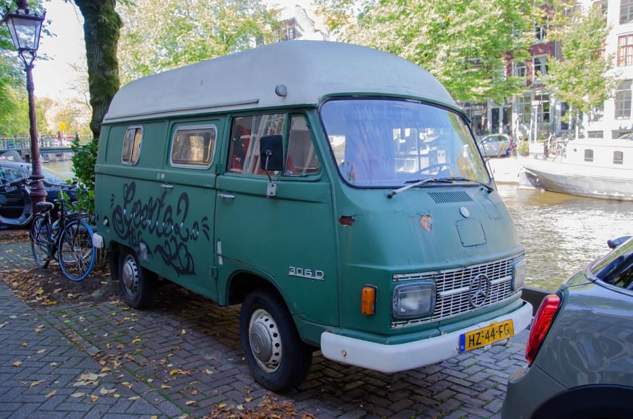 Mercedes 306D Camper
