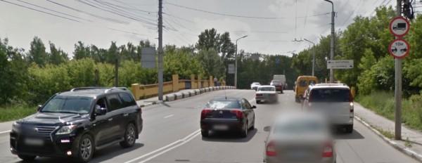 Улица Есенина, фрагмент GoogleMaps