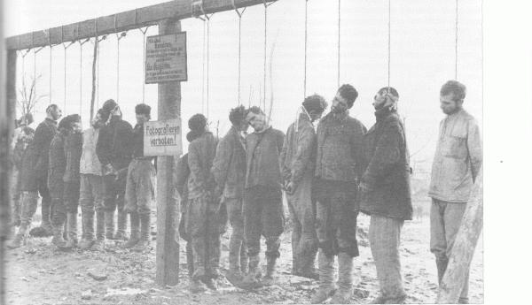 Эстонские казни военнопленных