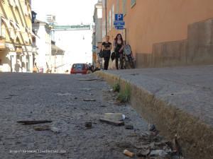 тротуары грязи не боятся