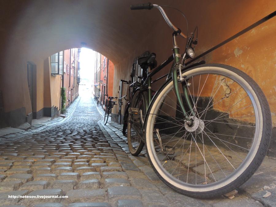 Стокгольм - старый и уютный
