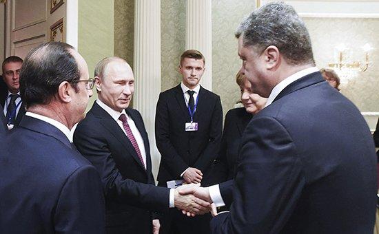 Черная рука у Порошенко