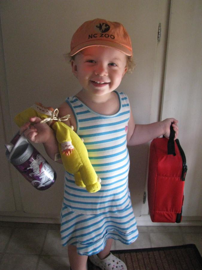 Rosie has started Pre-School!