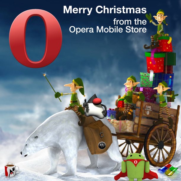 Opera Mobile Store wishes you a Merry Christmas