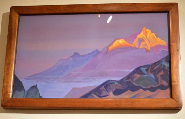 03 Путь в Шамбалу (1933) Холст, темпера (46,5 х 78,5)