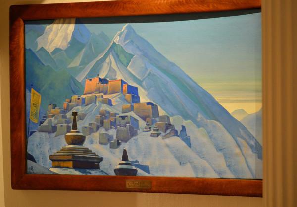 11 Тибет (1933) Холст, темпера (74,0 х 117,0)