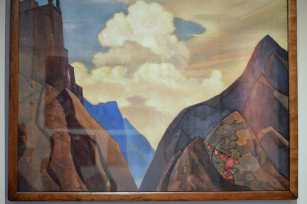 12 Шамбале Даик (1931) Холст, темпера (91,3 х 126,5)