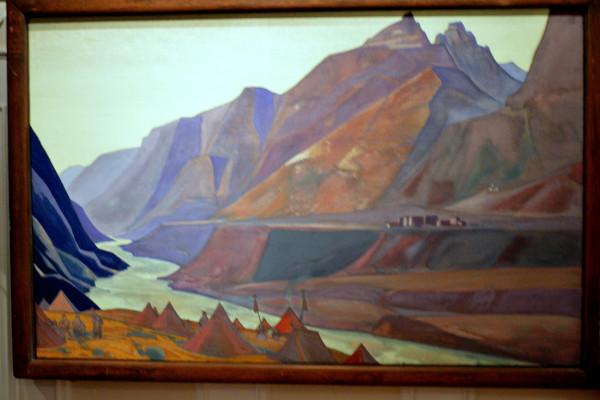 16 Коксар (1932) Холст, темпера, (74,0 х 117,3)