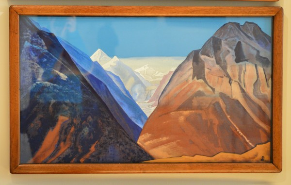 21 Гундла (Лахул) (1932) Холст, темпера (46,2 х 79,3)