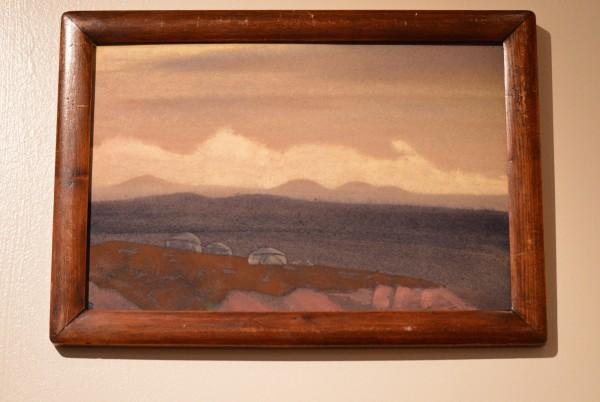 30 Монголия (Сойкан) (1936) Картон, темпера (30,7 х 45,9)